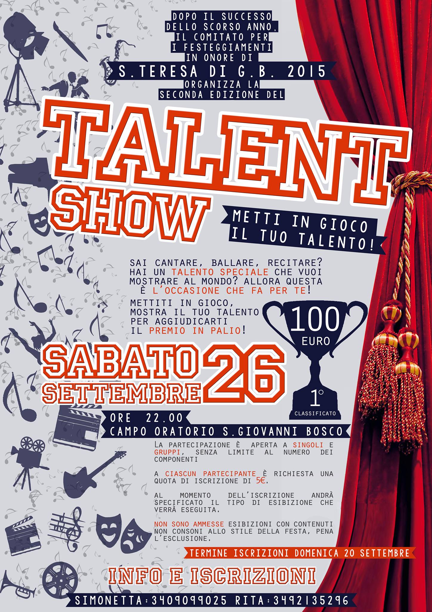 Talent Show - Festa Santa Teresa 2015
