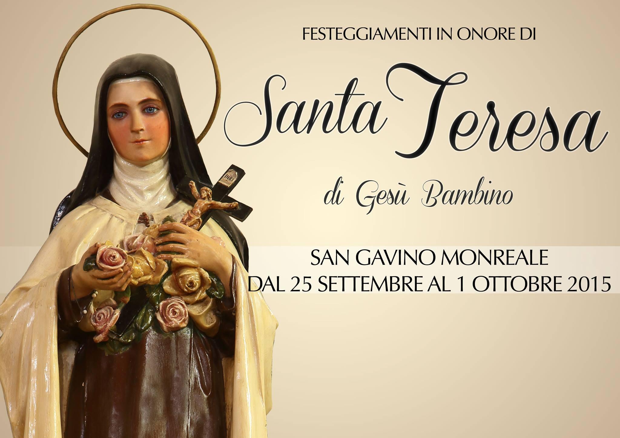 Festa di Santa Teresa 2015