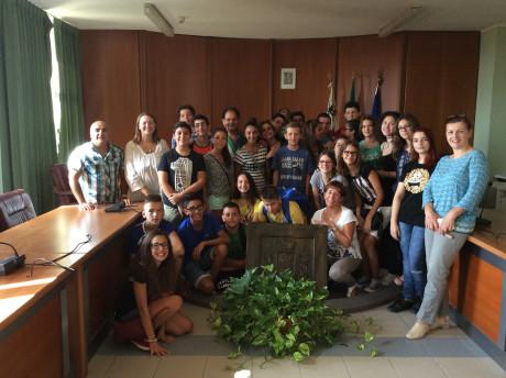 Visita culturale degli studenti di Novi Becej (Serbia) a San Gavino Monreale