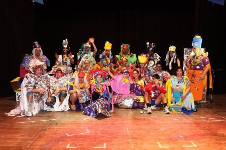 Teatro Una scuola plurigalattica 2010 Foto di Toto Casu