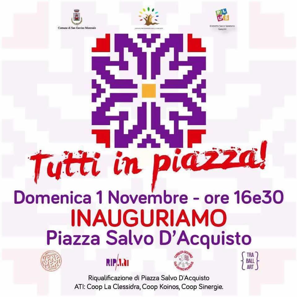 Inaugurazione Piazza Salvo D'Acquisto