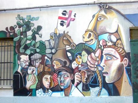Murale a Orgosolo