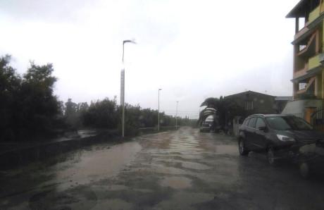 Via Vespucci, una strada in alto mare