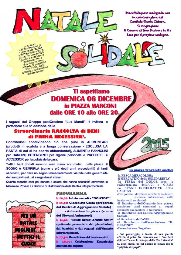 Natale Solidale 2015 - 5° Edizione