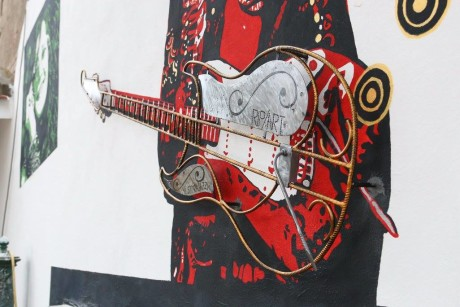 Murale di Jimi Hendrix