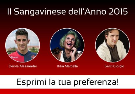 Vota il sangavinese dell'anno 2015