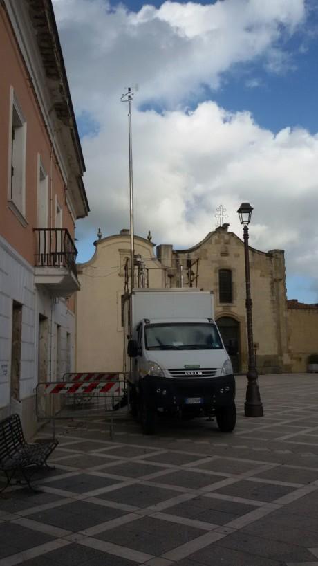 Partita la campagna di monitoraggio atmosferico a San Gavino