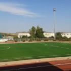 """Il """"Campu Nou"""" di Sanluri che nel pomeriggio ospiterà l'amichevole del Cagliari"""
