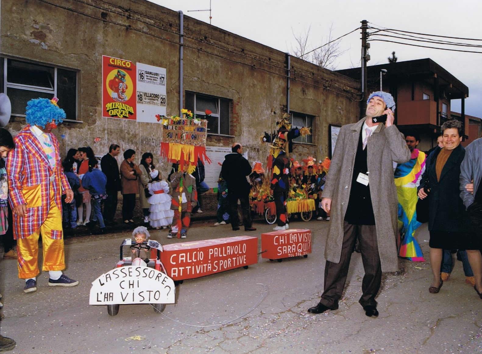 Kikki Pilloni, il calzolaio mascherato