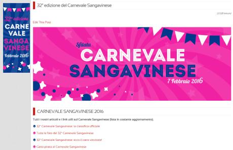 Carnevale Sangavinese 2016