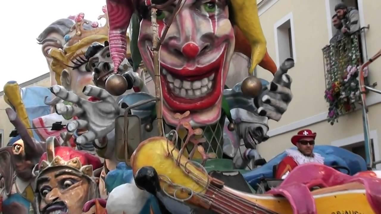 32° Carnevale Sangavinese, la lista dei carri