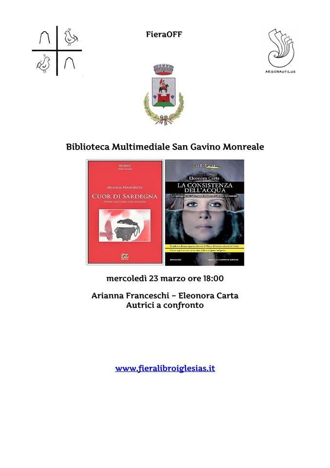 Arianna Franceschi ed Eleonora Carta, autrici a confronto
