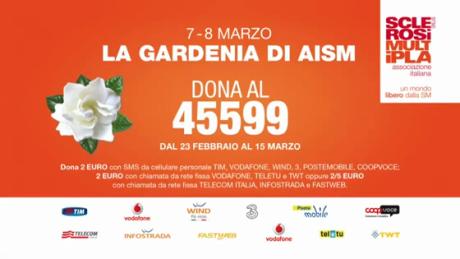 8 Marzo: tornano le gardenie di AISM