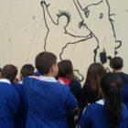 I murales arrivano anche nelle scuole di San Gavino Monreale