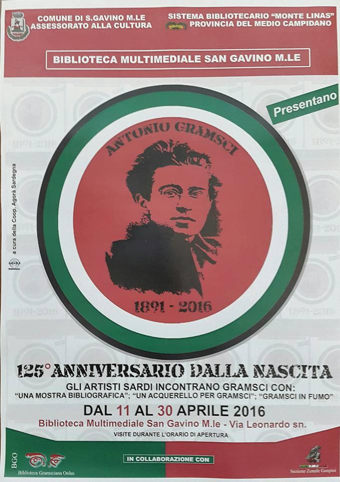 125° anniversario dalla nascita di Gramsci