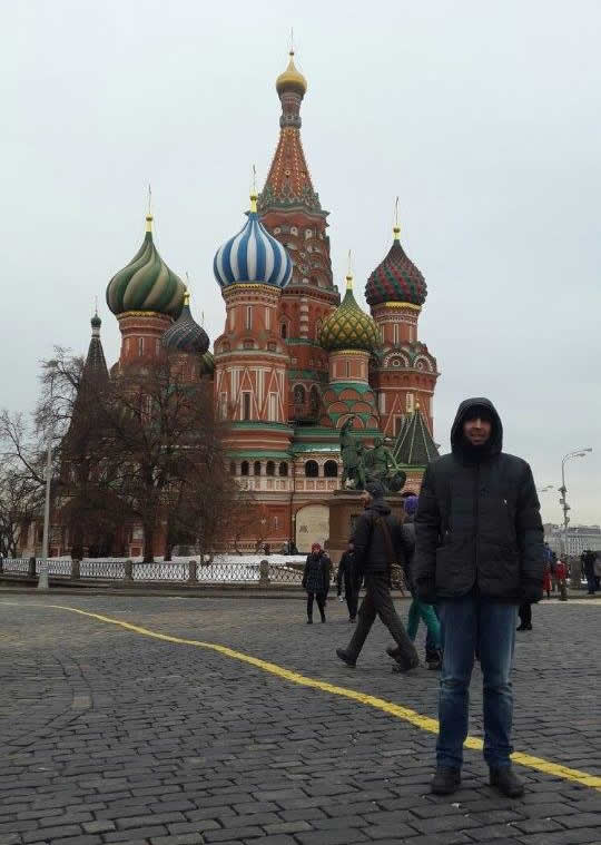Un Sangavinese a Mosca