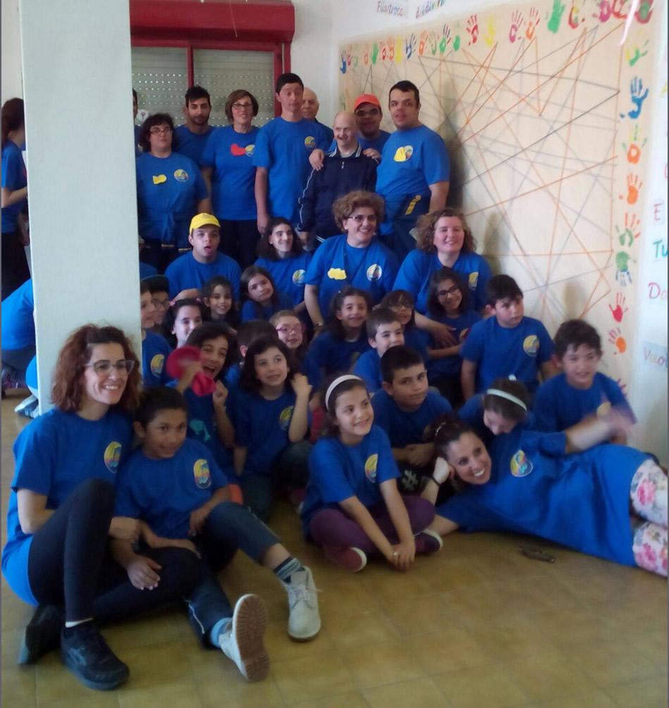 Associazione Delfino, una giornata con i bambini delle elementari