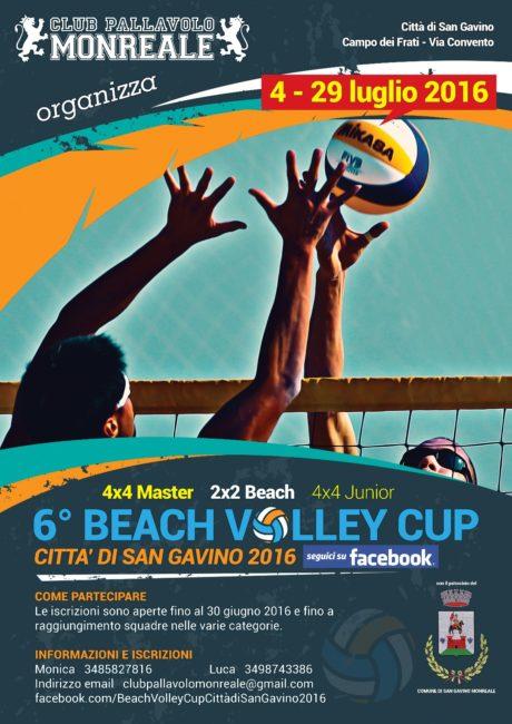 Beach Volley Cup Città di San Gavino 2016