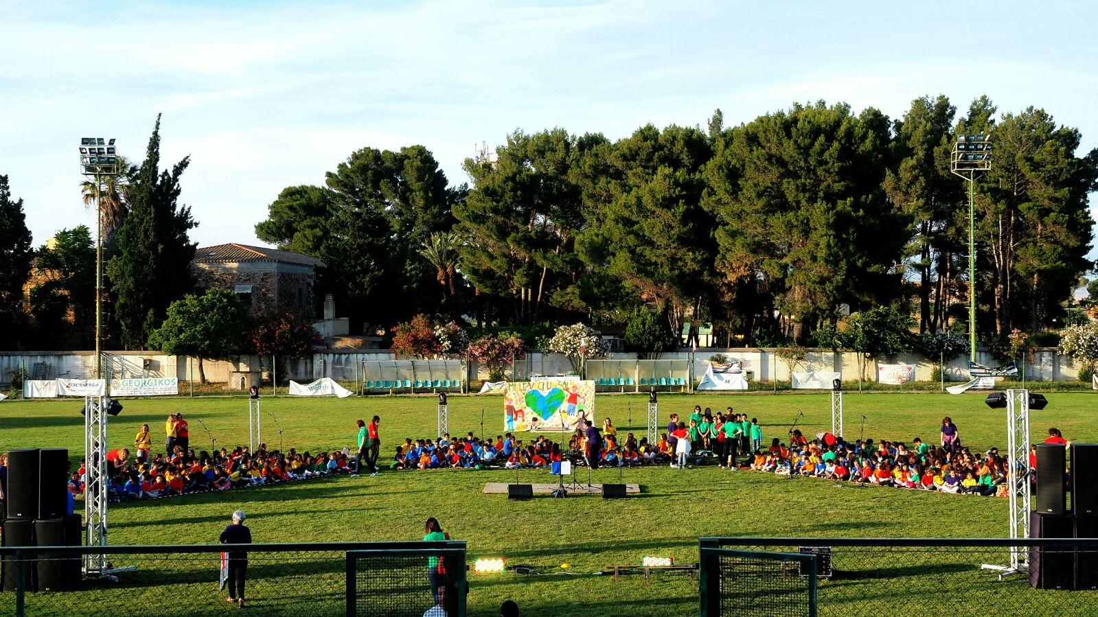 Una festa per salutare l'anno scolastico