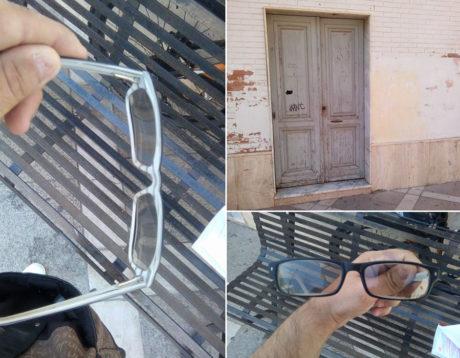 Occhiali da vista ritrovati in Piazza Marconi