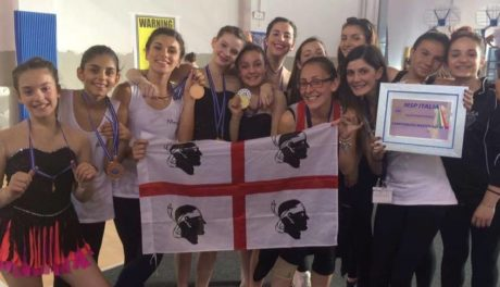 La Fantasia ai campionati Mps nazionali di ginnastica ritmica