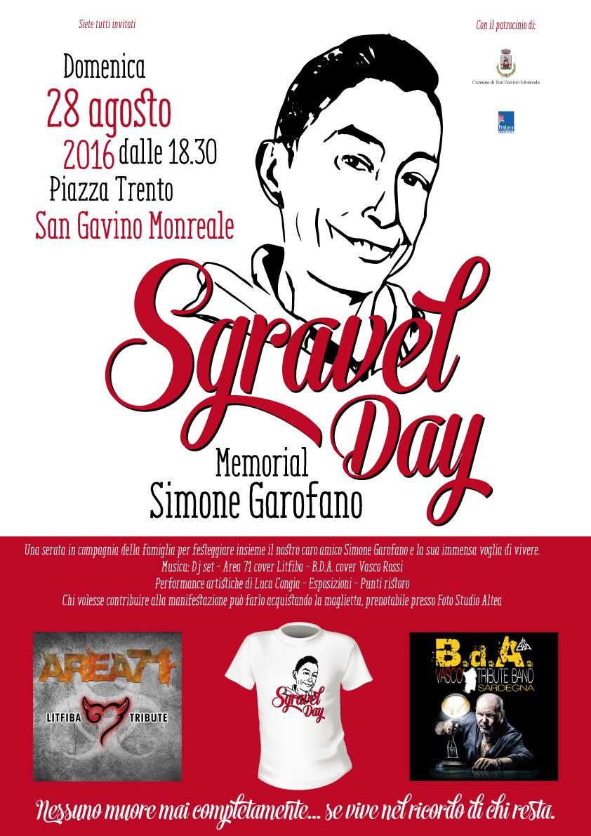 Sgravel Day, Memorial Simone Garofano