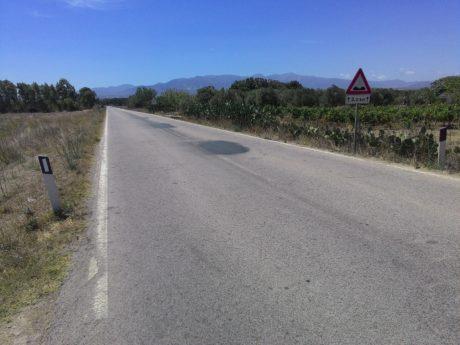 Strada per Sardara, quanti pericoli