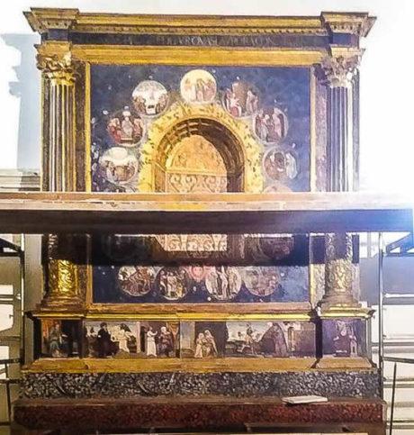 L'antico altare di Santa Severa