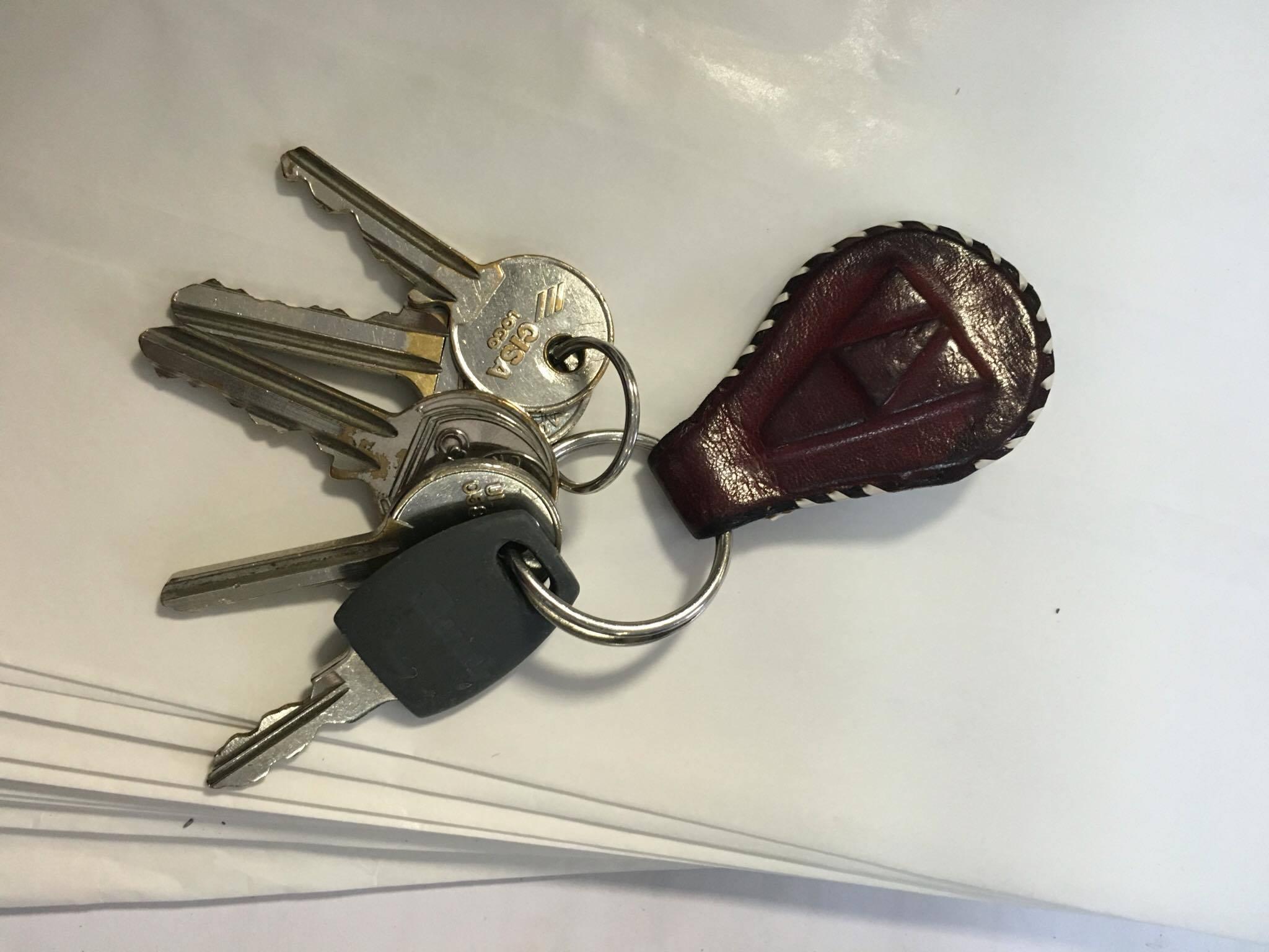 Mazzo di chiavi smarrito ai Giardinetti