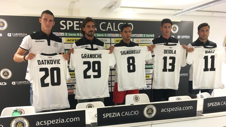Deiola allo Spezia: