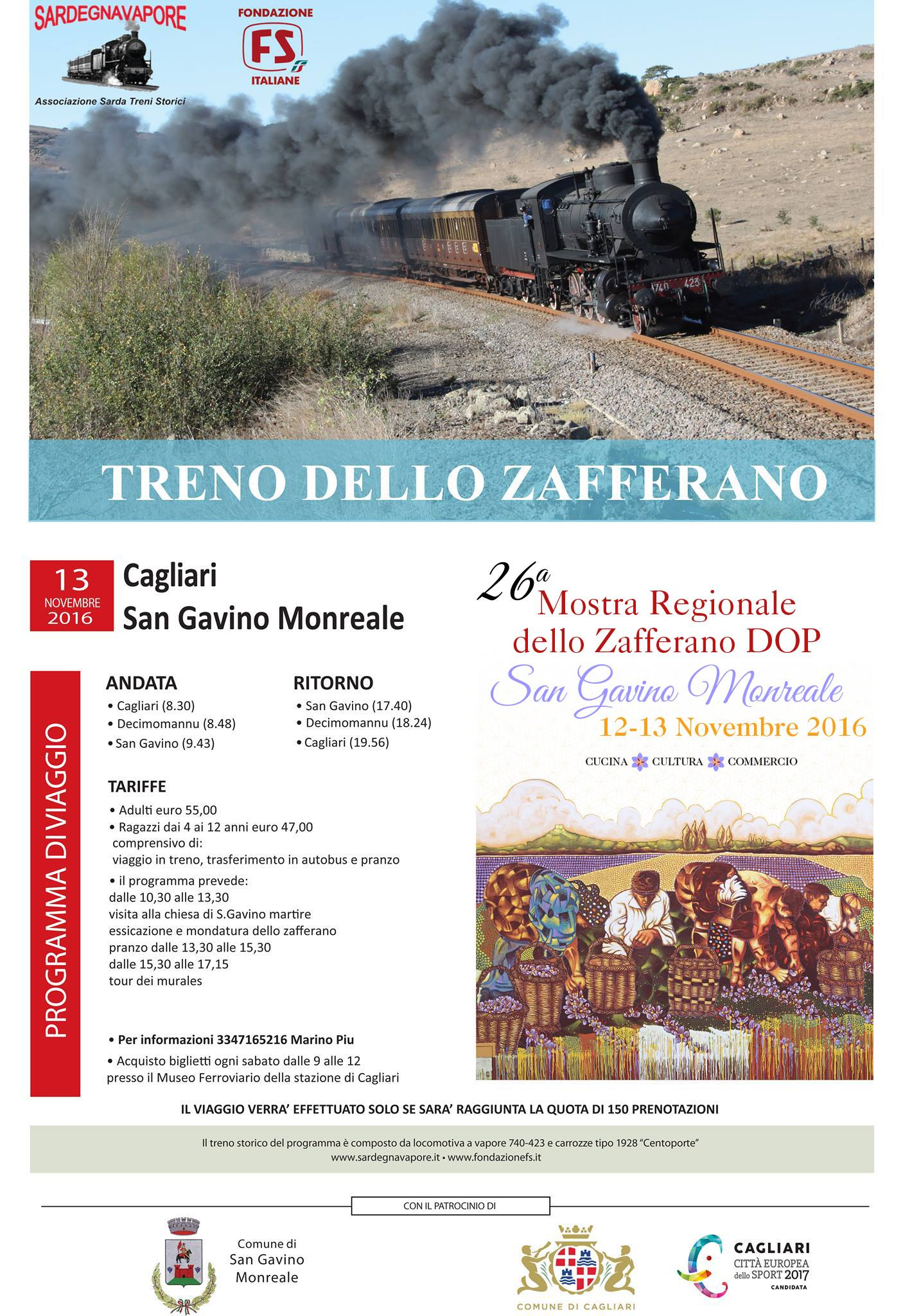 Il Treno dello Zafferano 2016