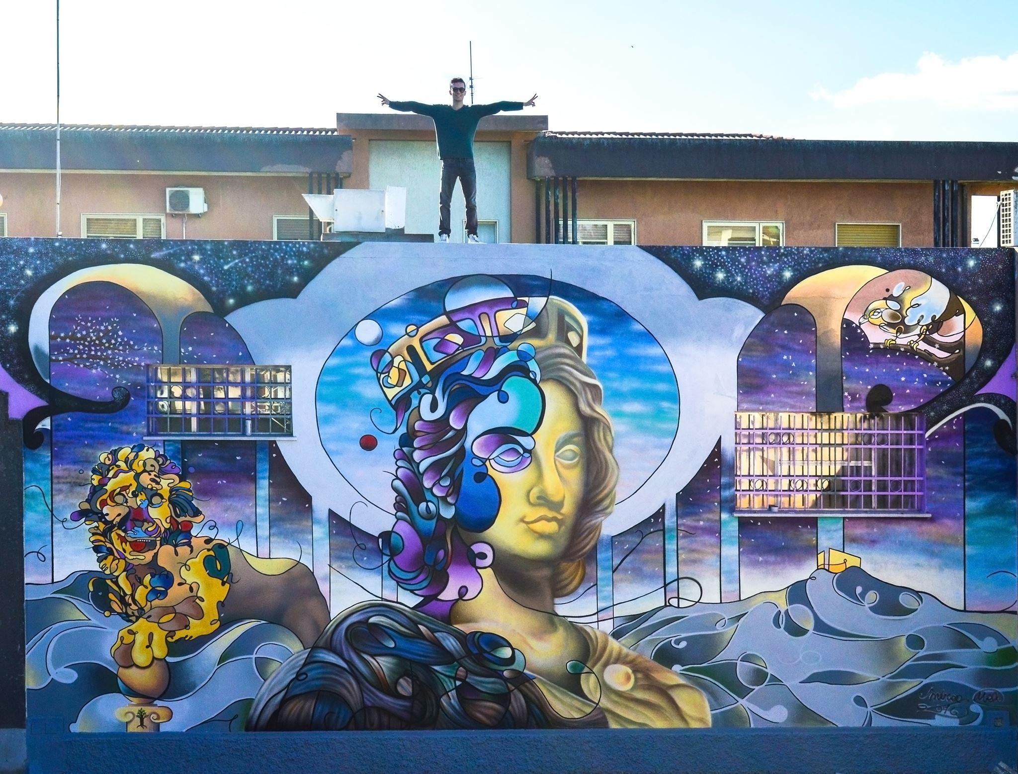 Inaugurazione del Murale di Andrea Meli