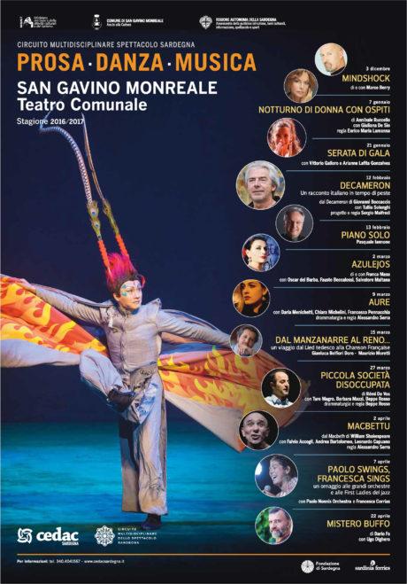 Stagione Teatrale CEDAC 2016/2017