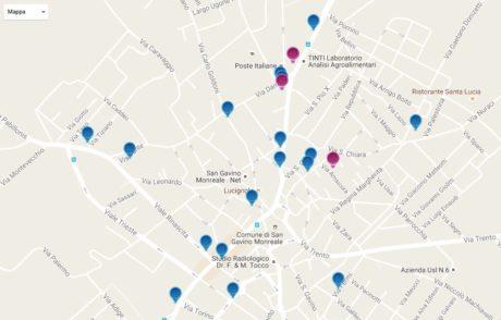 Una mappa per scoprire i murales