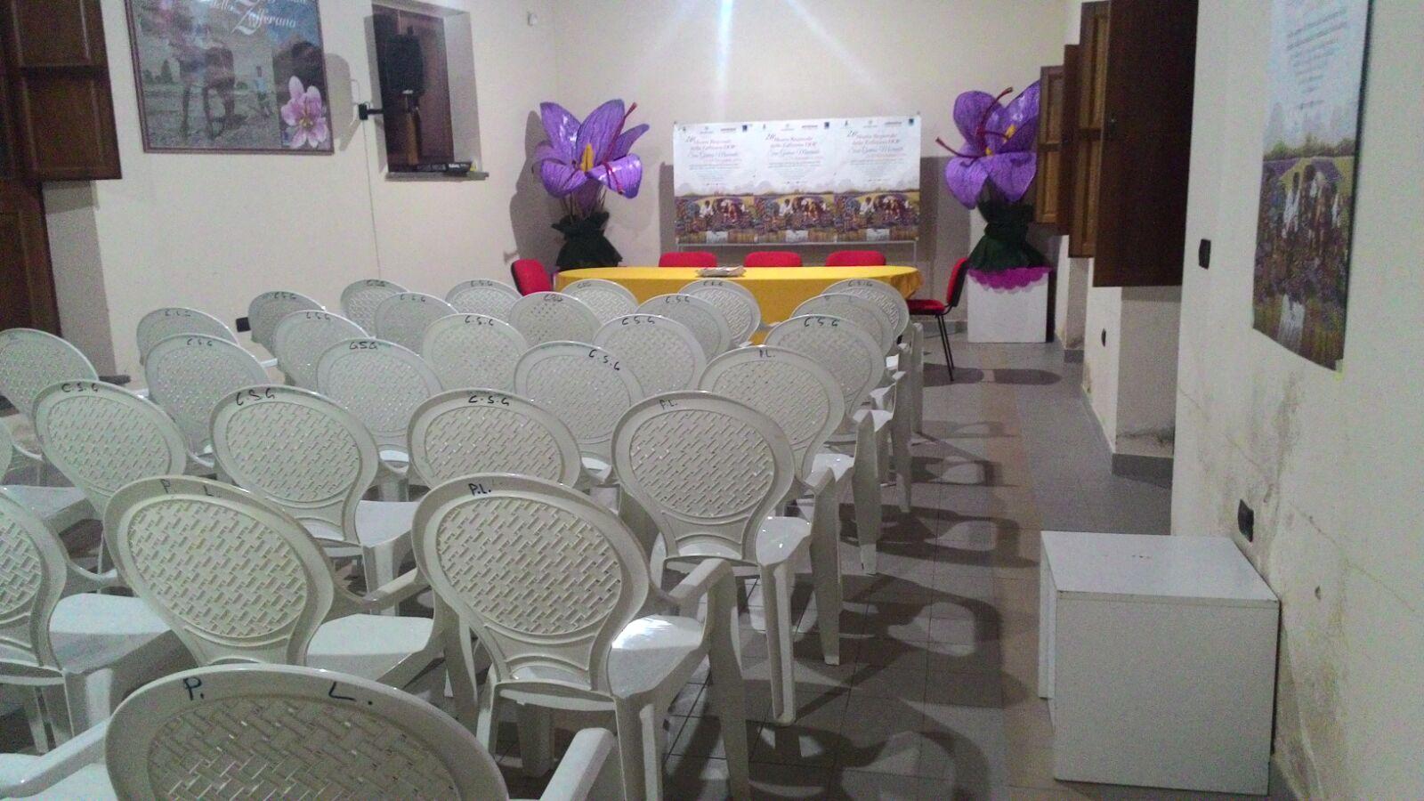 Inaugurazione della nuova sede della Pro Loco di San Gavino Monreale