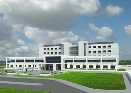 Progetto per il nuovo ospedale di San Gavino Monreale