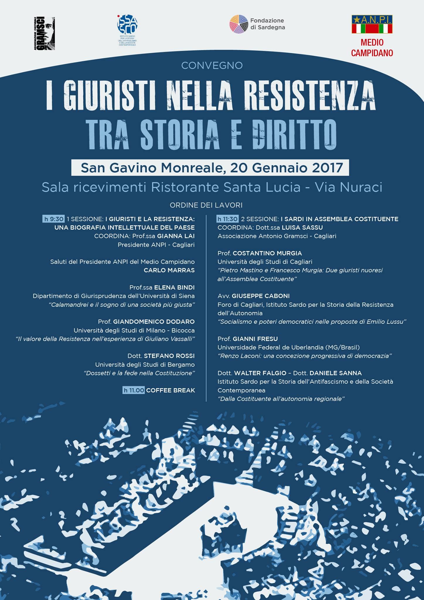 I Giuristi nella Resistenza. Tra storia e diritto.