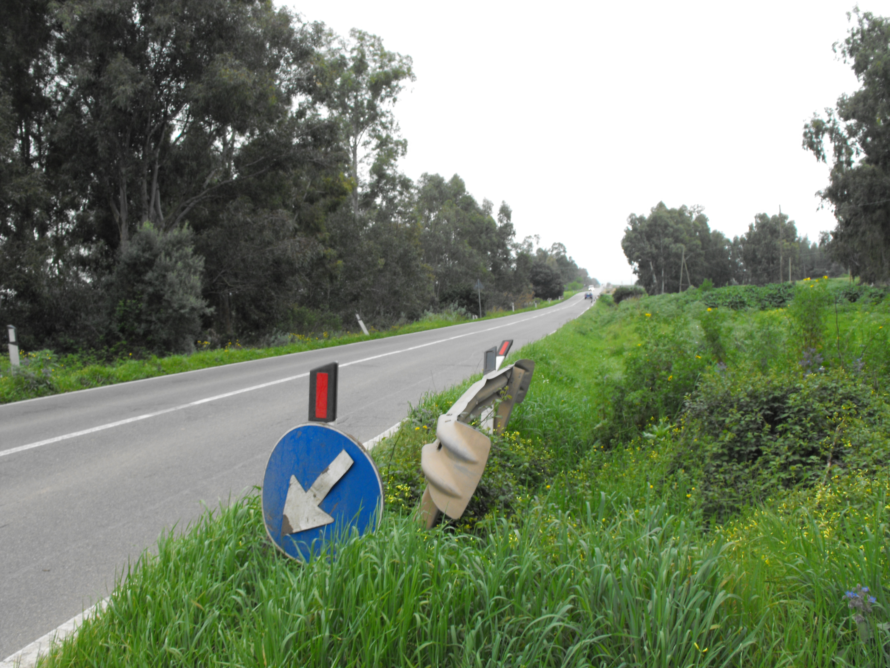 La provinciale Sardara – San Gavino Monreale