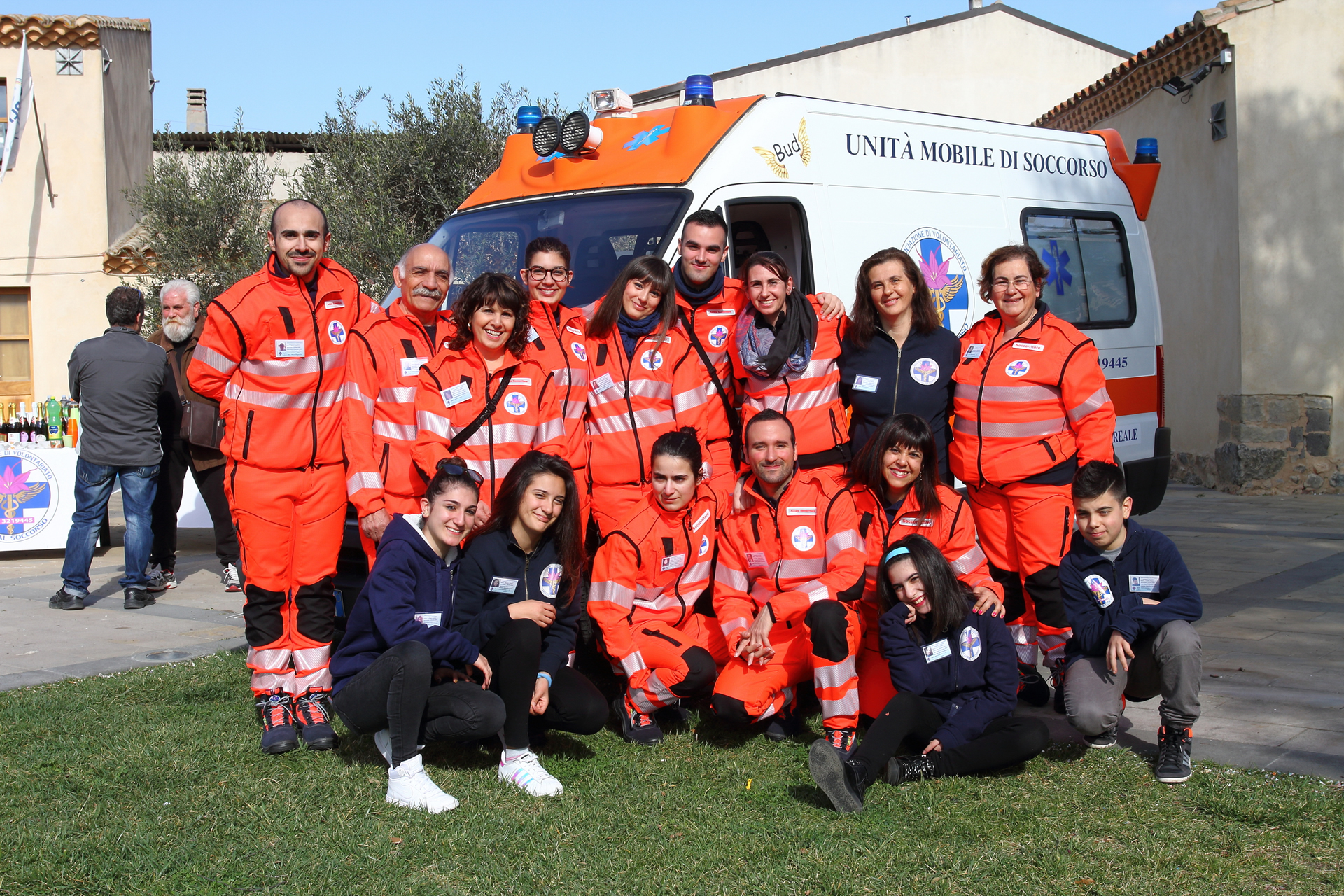 Monreal Soccorso, inaugurata la nuova ambulanza
