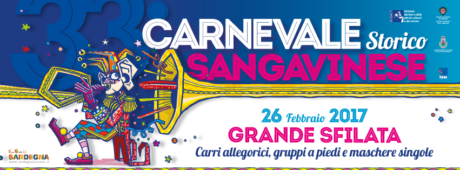 Il programma del Carnevale Sangavinese 2017