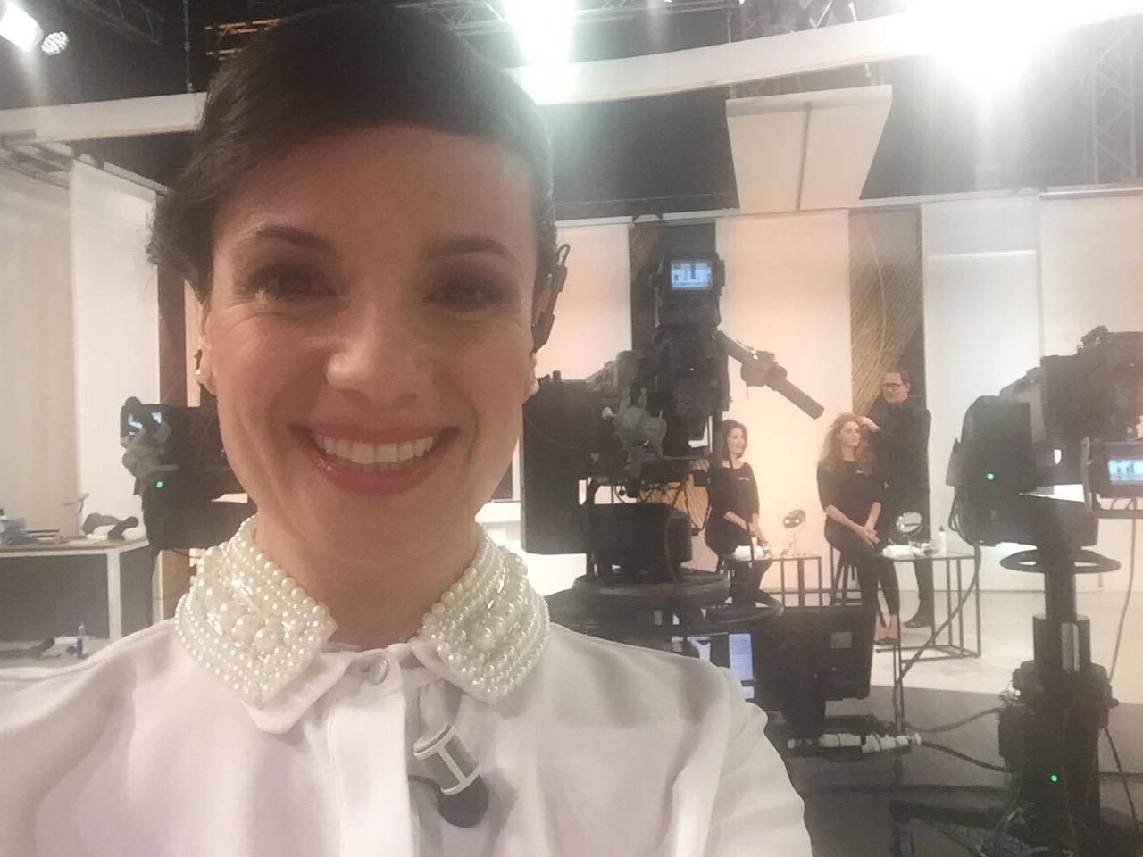 Giuliana Sanna, una sangavinese in TV