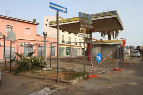 Bonifica di Piazza Battisti, lavori in corso