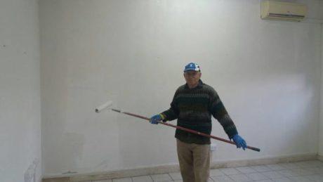 """Il Presidente dell'Associazione Piero Antonio Follesa al """"lavoro"""""""