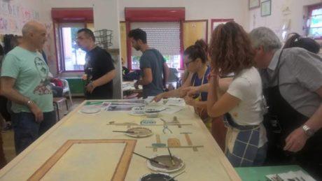 Laboratorio di pittura e scenografia (La Sardegna secondo Noi)