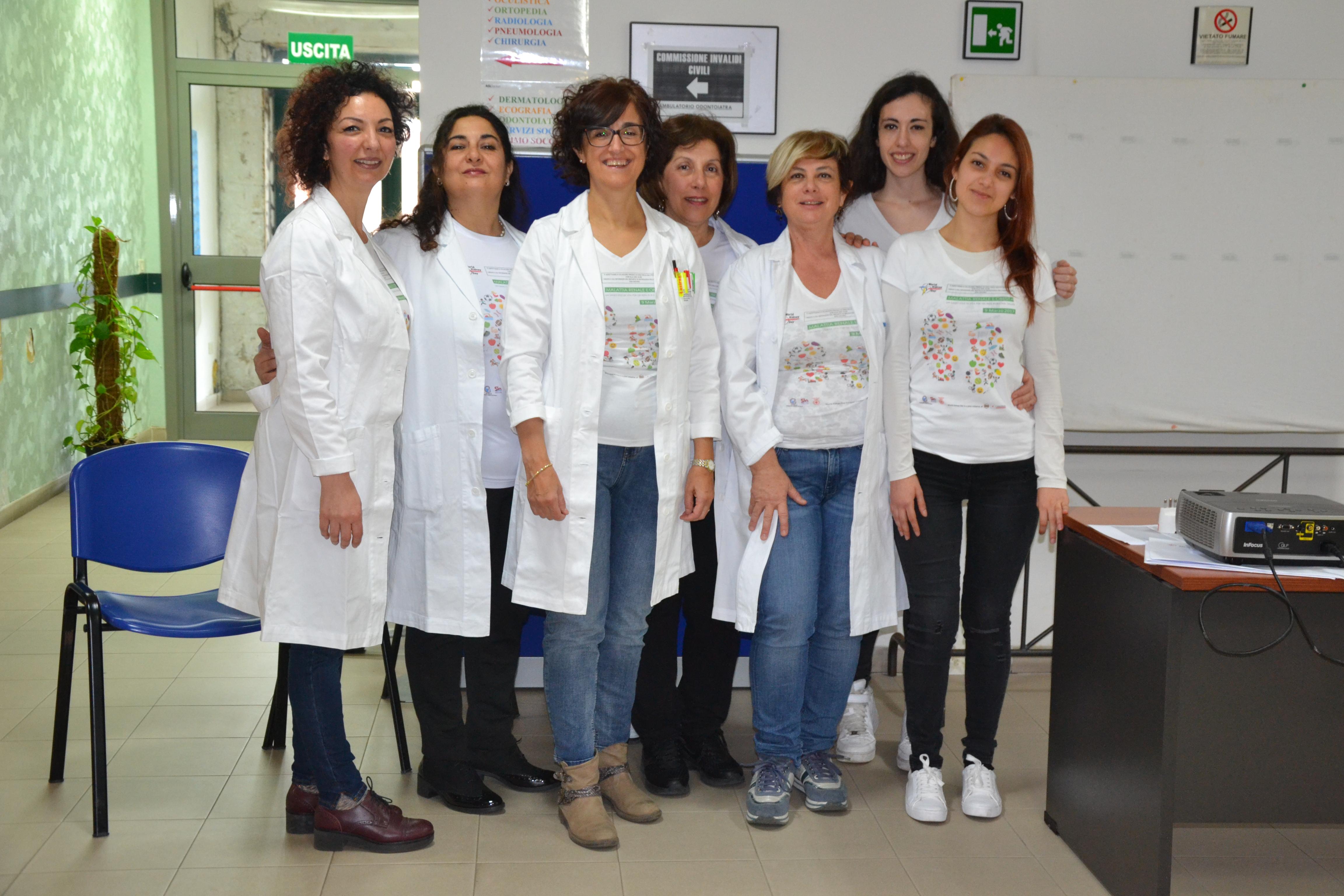 La Giornata Mondiale del Rene con l'Ospedale di San Gavino Monreale