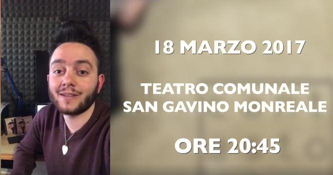 18 marzo, Davide Moreno presenta