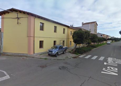 La parete in via Trento