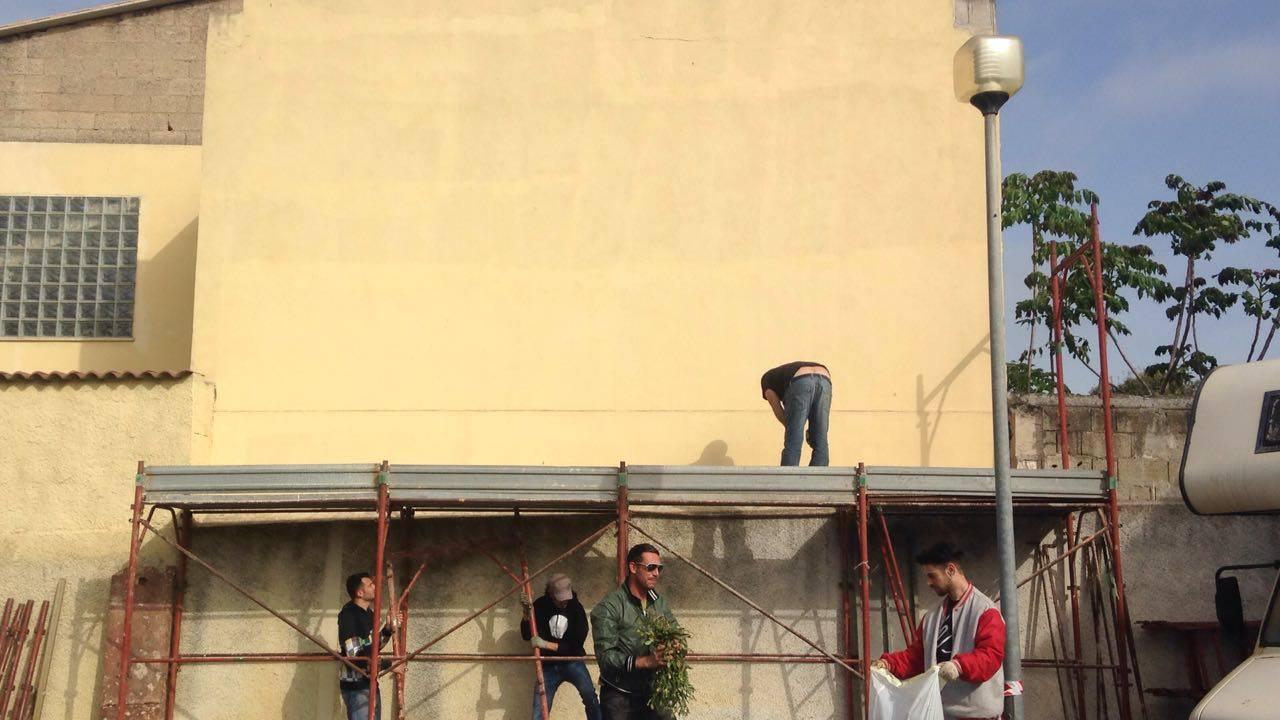 Via Piave, al via i lavori per un nuovo murale
