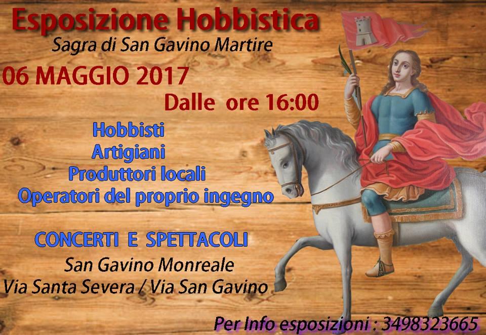 Esposizione Hobbistica per San Gavino Martire 2017