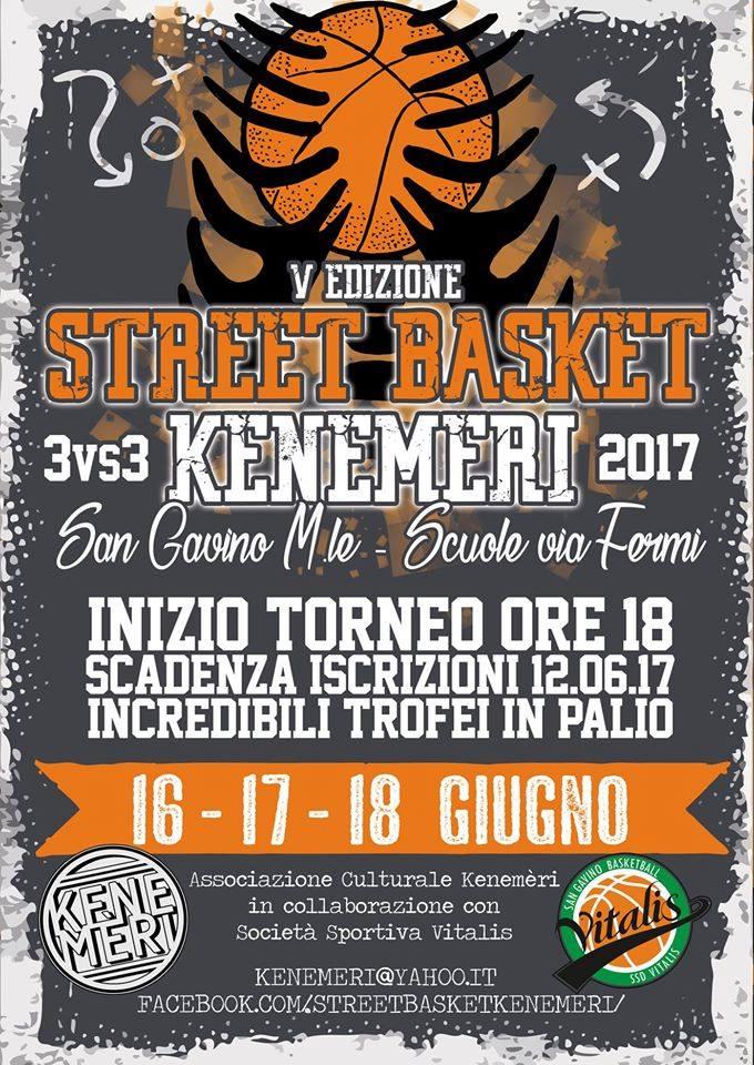 Street Basket Kenemèri - 5° edizione